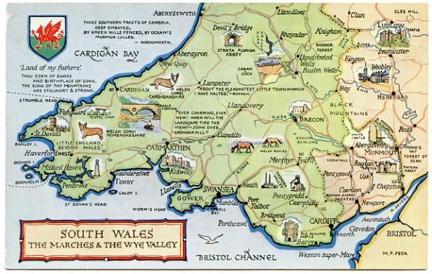 South Wales postcard