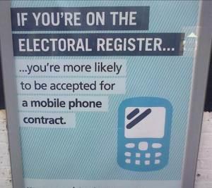 register mobole phone